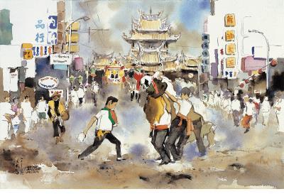 〈北港媽祖出巡〉,2006