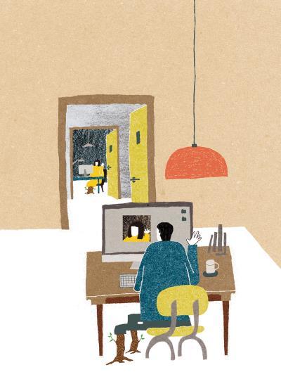 〈最近又最遠的距離〉,徐銘宏 善於在單一空間中發展故事。 (徐銘宏提供)