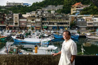 南方澳商圈發展協會理事長廖大慶,極力為保育和故鄉發展奔走。(莊坤儒攝)