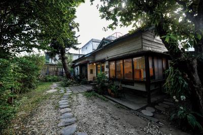 走入時光1939書店的庭院,宛若回到建造房屋的1939年。