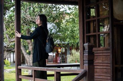 慶修院環境清幽雅靜,提供在地居民心靈安定的力量。