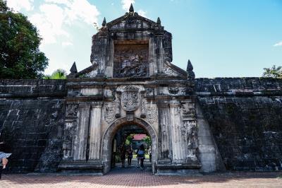 菲律賓冬季研究工作坊,青年領袖特別走訪菲律賓的聖地亞哥古堡,了解當地歷史文化。