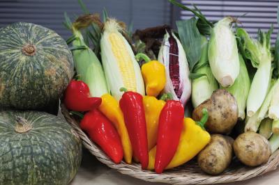 鮮綠有產銷履歷的農產品,成功打入超市等通路。