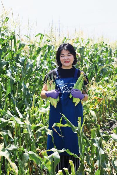 熊亞萍發揮理專的長才與優勢,將農產品操作成農企業。