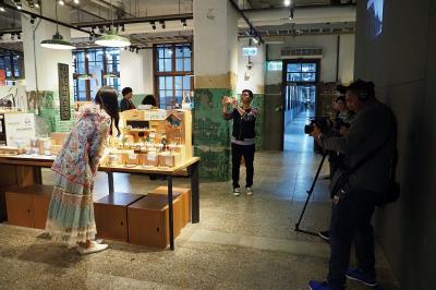 泰國CH5頻道至松山文創園區取景。