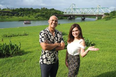 菲律賓名節目主持人Fernandez與Valerie Tan兩人充滿活力、默契十足。
