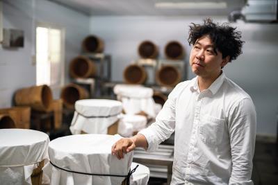 台灣首位獲得IICCT認證的巧克力品鑑師、福灣巧克力莊園創辦人許華仁。