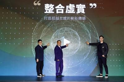 徐嘉凱宣告打造沉浸式娛樂,希望以商業模式活絡台灣電影產業。