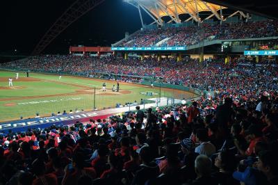 世界12強棒球賽 (林格立攝)