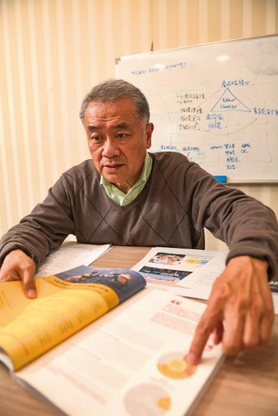 循環台灣基金會董事長黃育徵認為「重新設計」產品與商業模式,是循環經濟的關鍵。