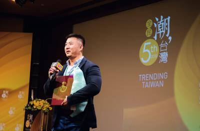 第五屆「全民潮台灣」短片比賽,首獎由曾國安《媽媽的樣子》獲得,內容描述來自客家、原住民、越南,三位不同台灣族群母親的故事。(林旻萱攝)