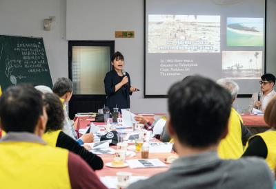 防災有成,梅洲社區與東南亞學者交流經驗。
