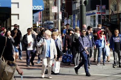 楊安澤父母相識於加州,自認灣區是其第二故鄉,而舊金山則是其 選舉造勢的重點城市。(莊坤儒攝)