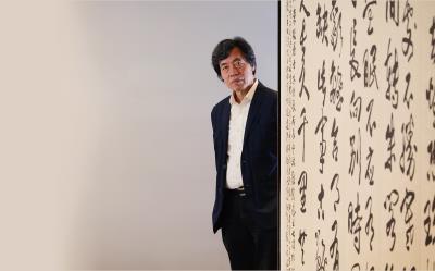 朱振南一輩子力求藝術的頂峰,亦追求生命的華彩。(林格立攝)