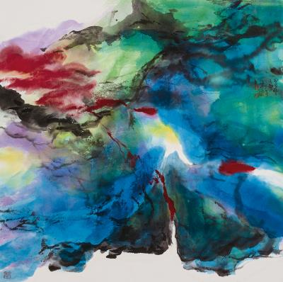 朱振南用筆墨勾勒人生歷練與胸中丘壑。