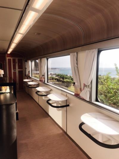 透過列車這個移動的平台,把窗外的景色帶入車內,重新認識台灣的美。(柏成設計提供,李國民攝)
