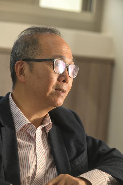 去年8月1日接掌國立臺灣戲曲學院的劉晉立,致力提升軟硬體教學品質,積極推展國際化。(莊坤儒攝)