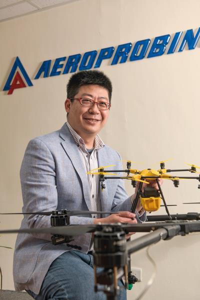 從玩家變身成為無人機產業的開拓者,高丈淵在五年內讓 翔探成為獲得國發基金挹注資金的新創公司。