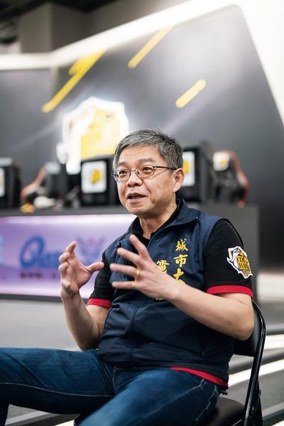 詹勳鴻洞見產業前景,再結合正規教育,是台灣電競教育的重要推手。