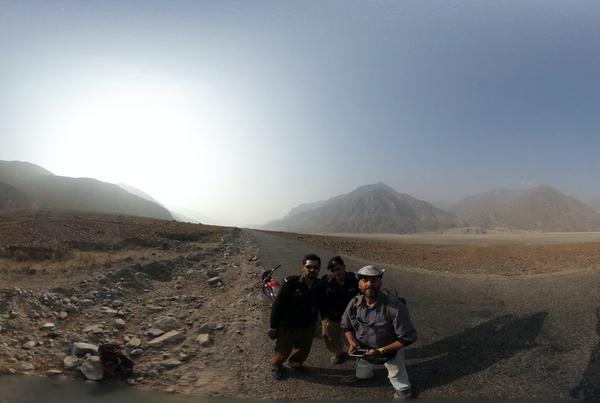 2018/3/5 Paul Salopek 在巴基斯坦 Chelas 附近