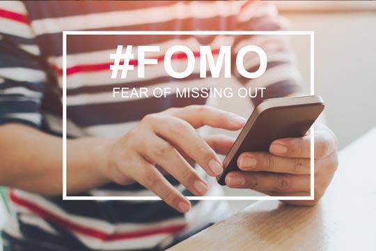 別再患得患失了!小心錯失恐懼症 Recognizing FOMO and How to Combat It