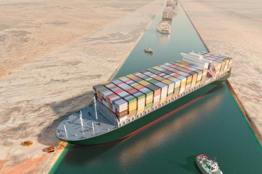 蘇伊士運河大排長「榮」!全球貨運受衝擊 Suez Canal Blockage Impacts Global Shipping
